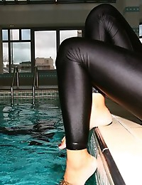 Latex Leggins..