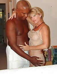 Black man & Blonde