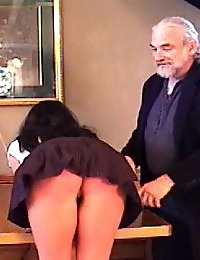 Great ass spanking